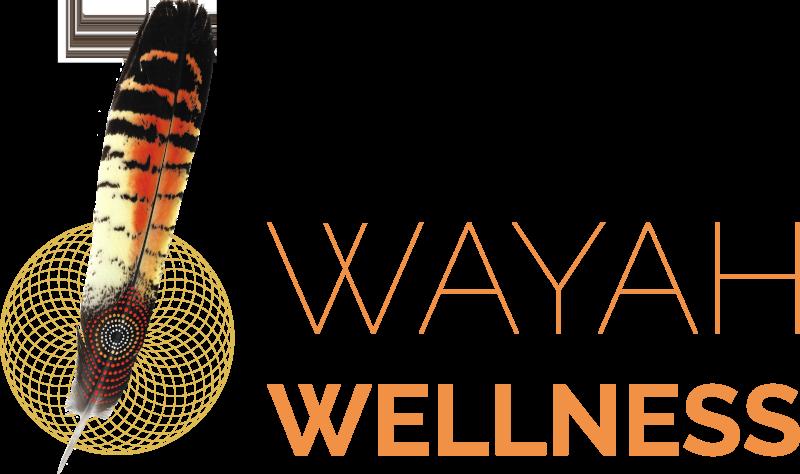 Wayah Wellness logo larger version.